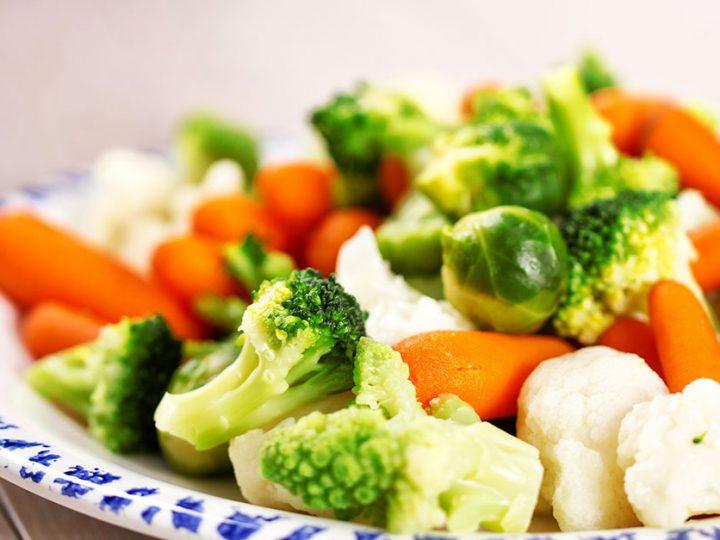 เทคนิคการทำอาหาร การต้มผักให้มีสีสด การทำอาหาร